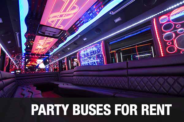 Charter Bus Party Bus Augusta