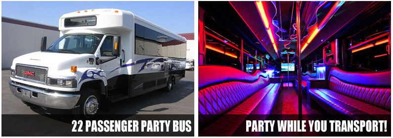 Wedding Transportation Party Bus Rentals Augusta