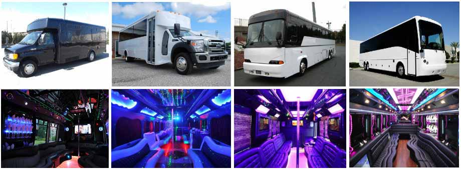 Wedding Transportation Party Buses Augusta
